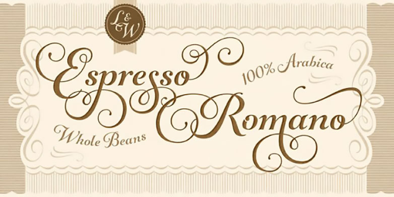 Deal of the week: Gorgeous Gioviale script font