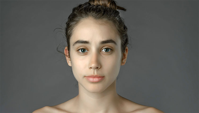Photoshop beauty experiment produces surprising results