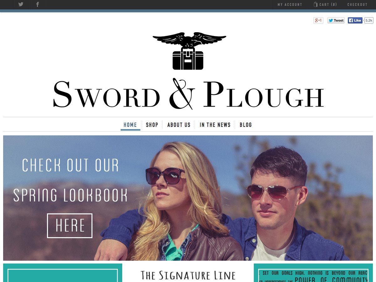 sword and plough