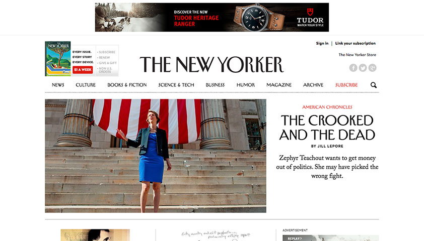 The New Yorker reworks its redesign, but issues remain