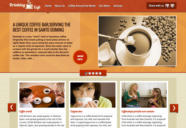 19 Coffee Shop Themes For Wordpress Webdesigner Depot