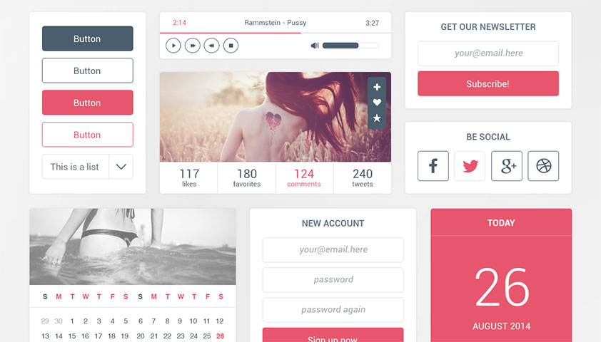 50 fantastic freebies for web designers, September 2014