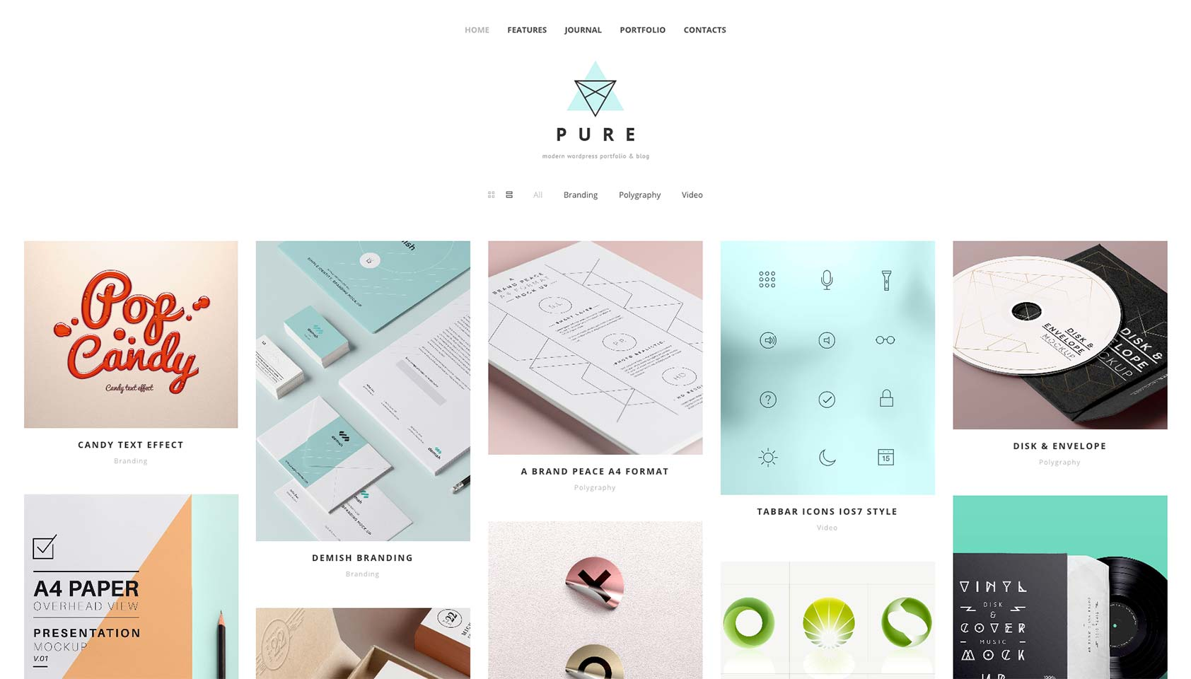 Free download: Pure WordPress theme