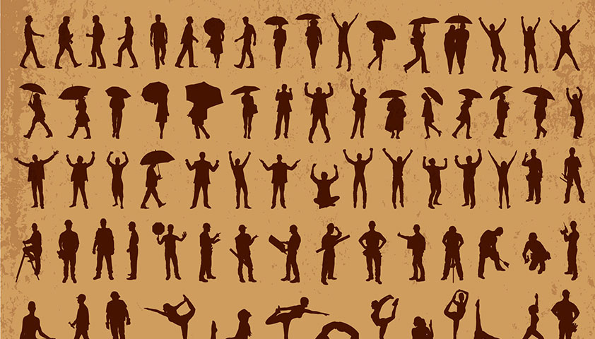 Free download: 600+ free vector silhouettes