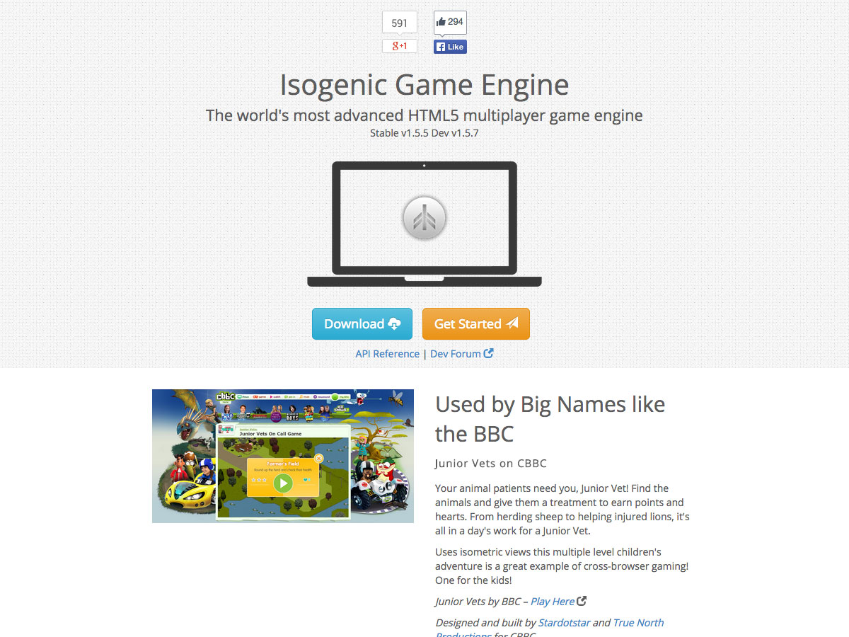 isogenic game engine