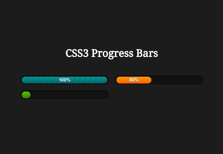 a-series-of-css-progress-bars