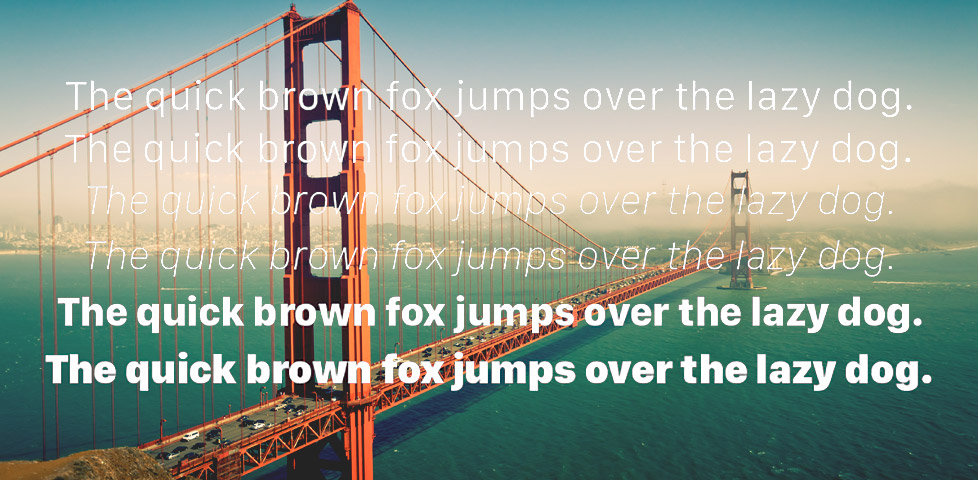 Is Apple's San Francisco the future of typography on OSX?
