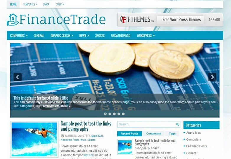 financetrade-theme-demo