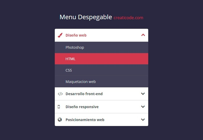 menu-despegable-estilo-acordeon-accordion-menu-codepen