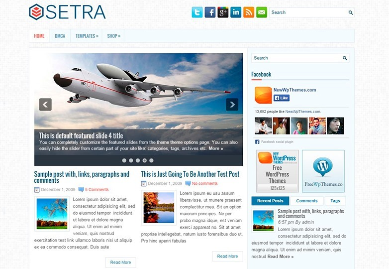 setra-free-wordpress-theme