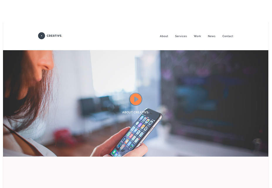 Creativs: PSD and HTML5 Website Template