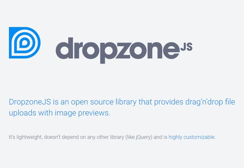 Dropzone.js