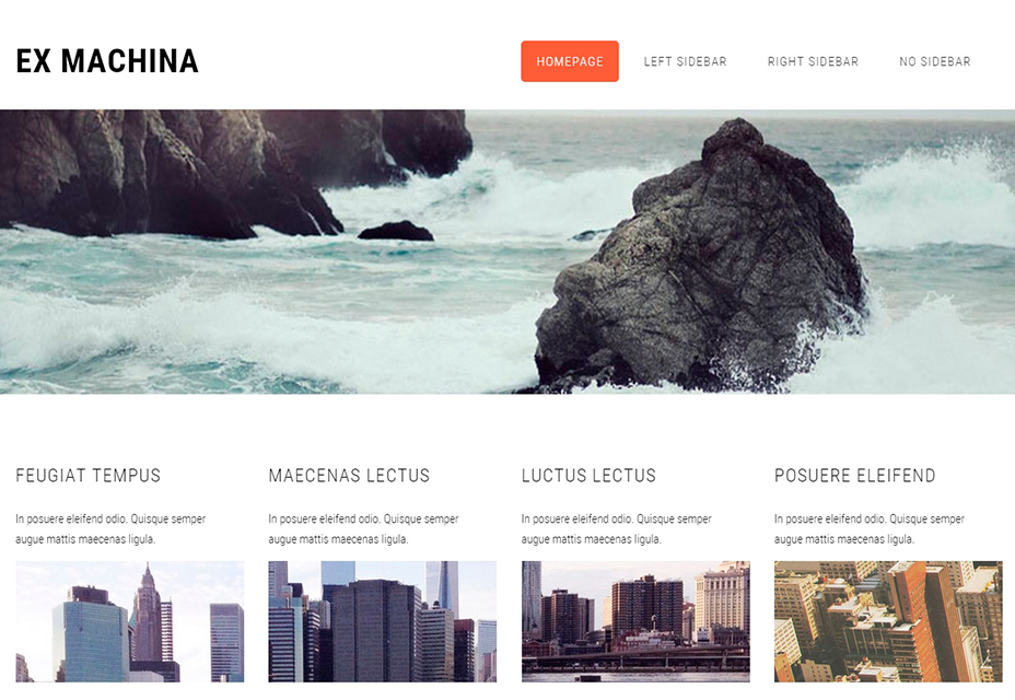 Ex Machina HTML5 Template