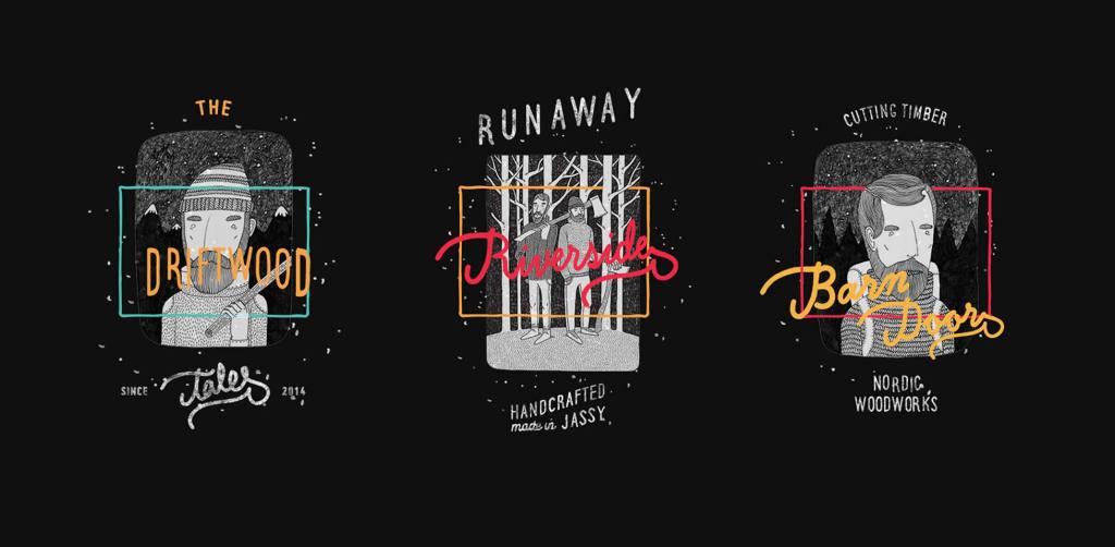 65 best free fonts, Spring 2015