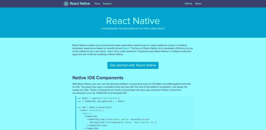 Facebooks' React Native radically simplifies app development