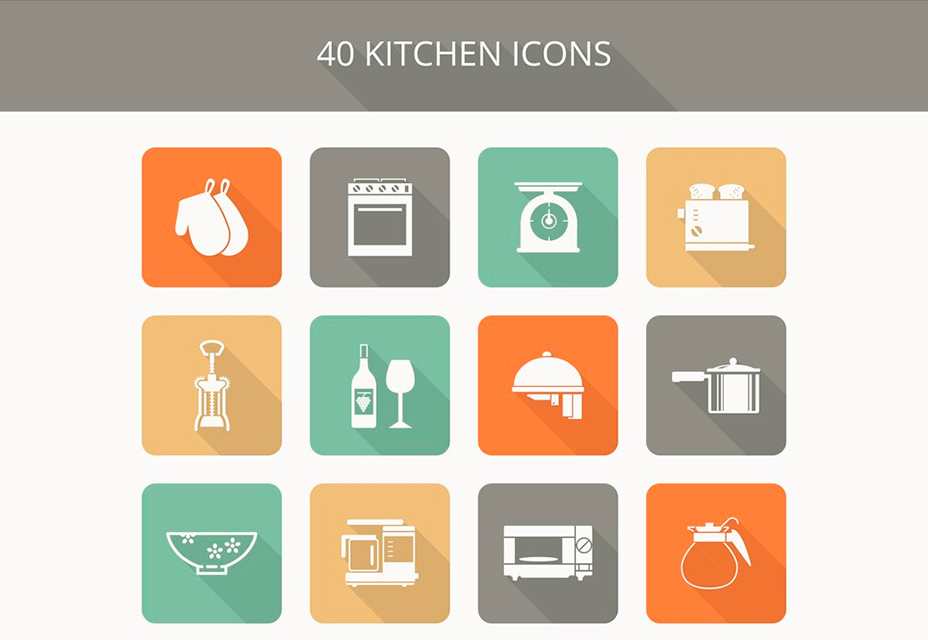Freebie: Kitchen Icon Set