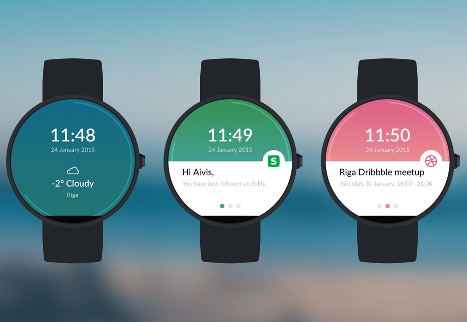 Moto 360 Watch Sketch Resource