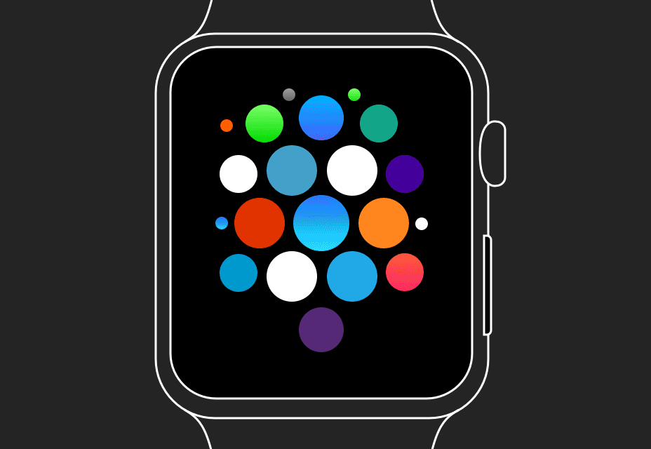 Apple Watch UI Kit for Sketch