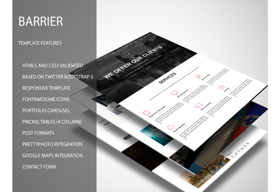 Barrier: Business Template