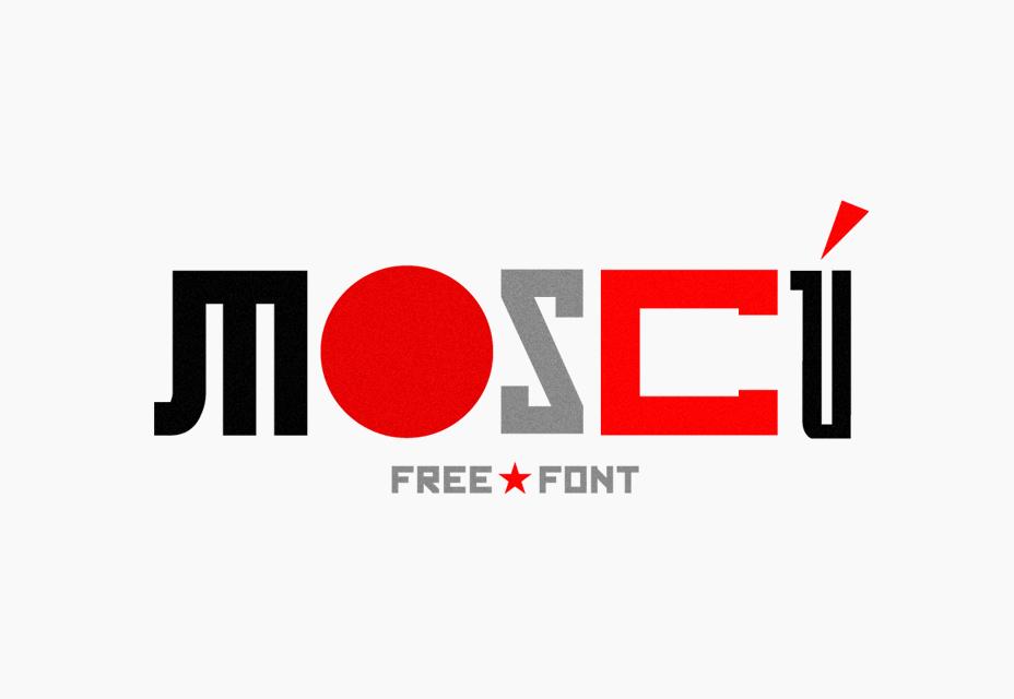 Moscú Free Font
