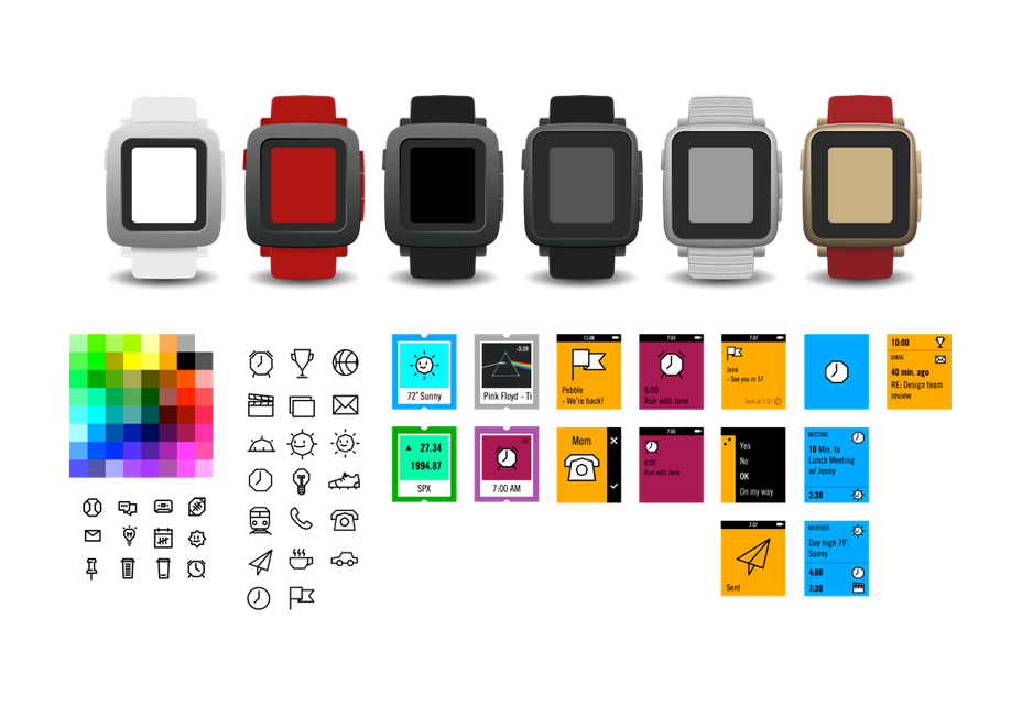 Pebble Time Design Kit