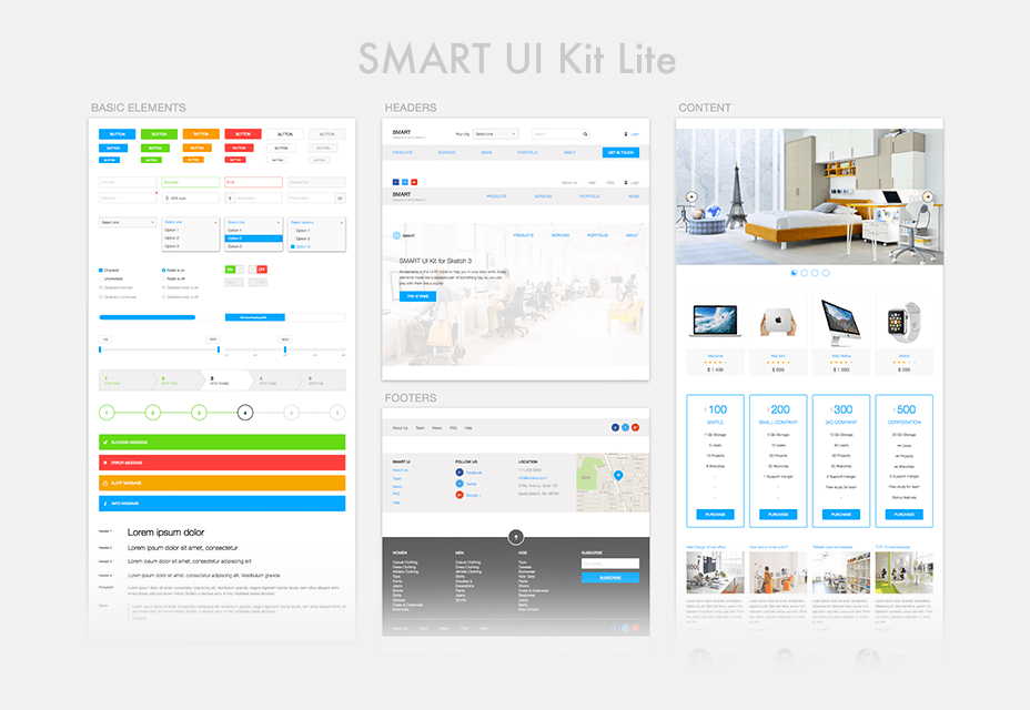 Smart UI Kit Lite