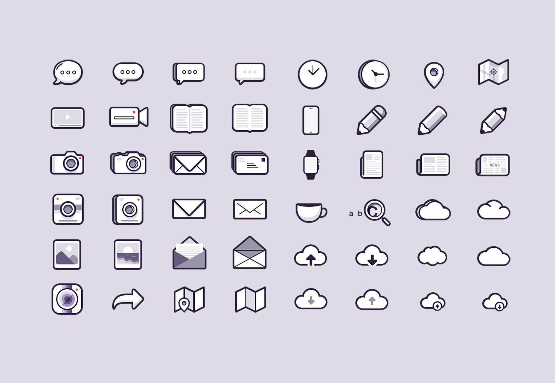 48 icons