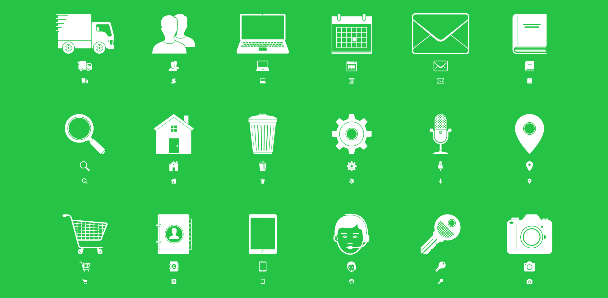 Free download: 30 responsive icons by icons8
