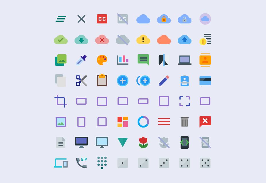 Multisize Material Design Icons