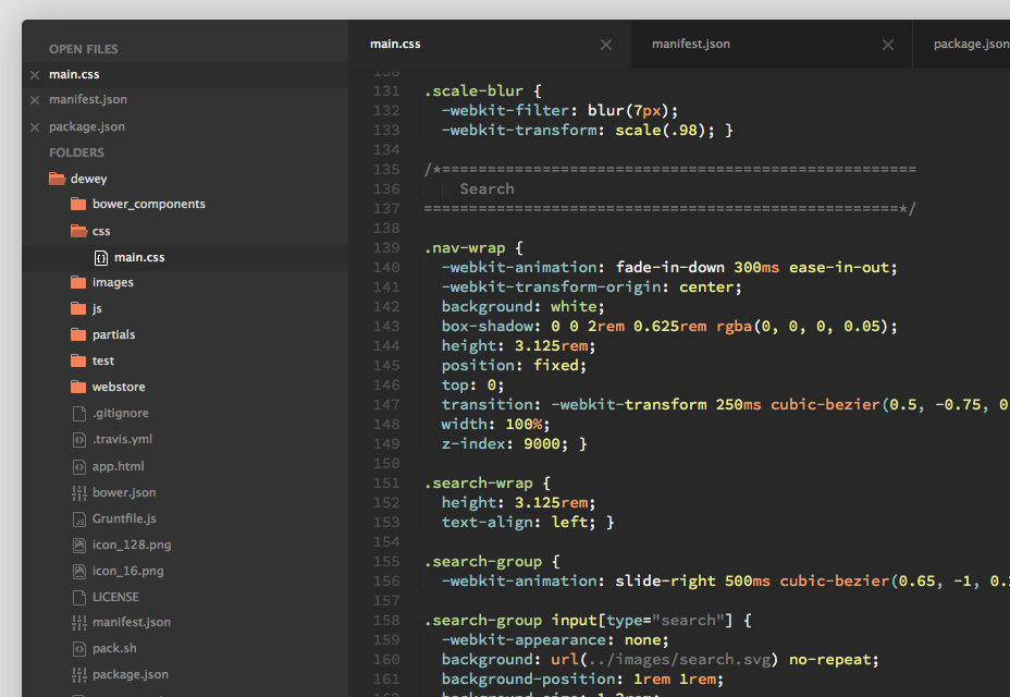 Predawn: Interface and Syntax Theme for Sublime and Atom