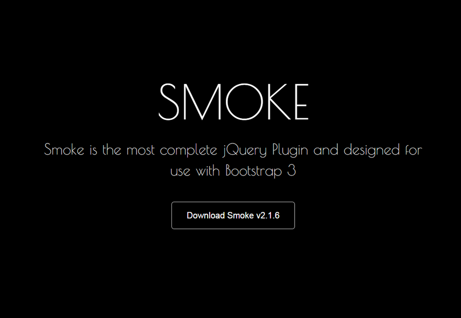 Smoke: JQuery Plugin to Validate Forms