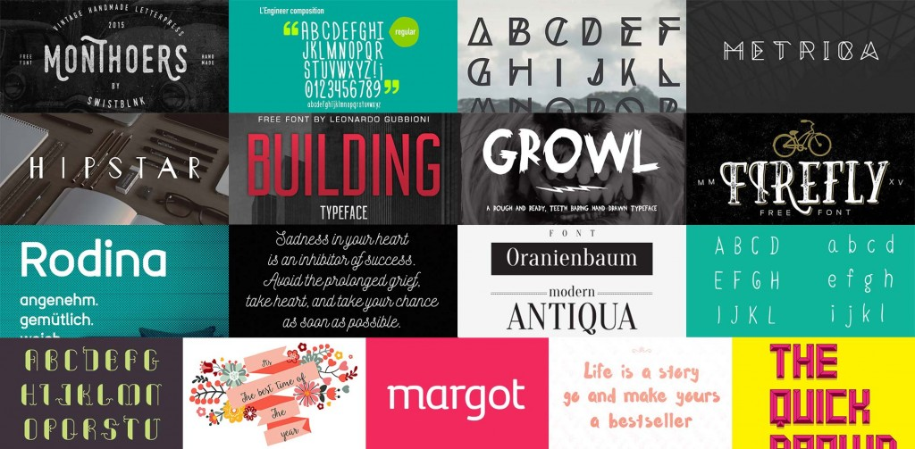 Download Free download: Font bundle featuring 17 incredible ...