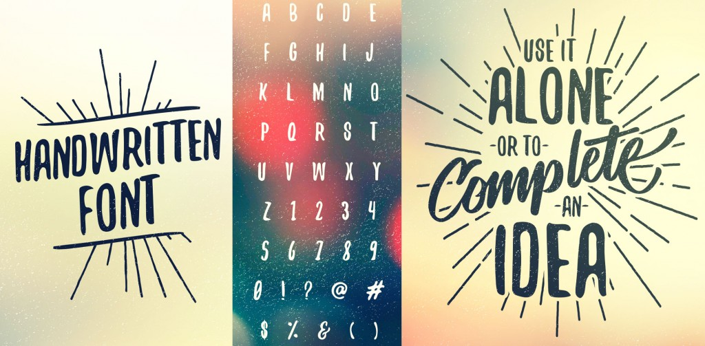 60+ best free fonts, Summer 2015