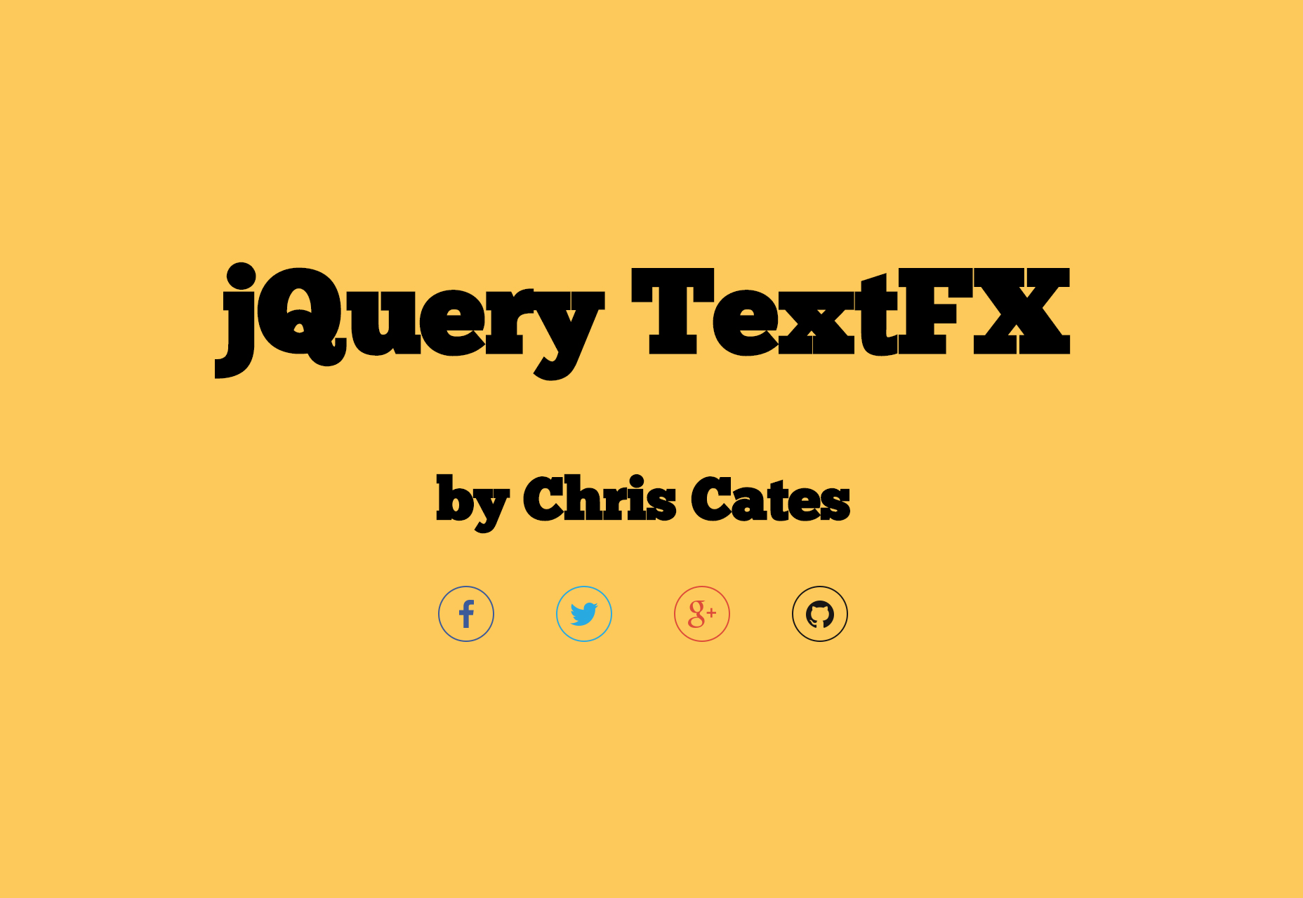 TextFX: JQuery Text Effects Plugin