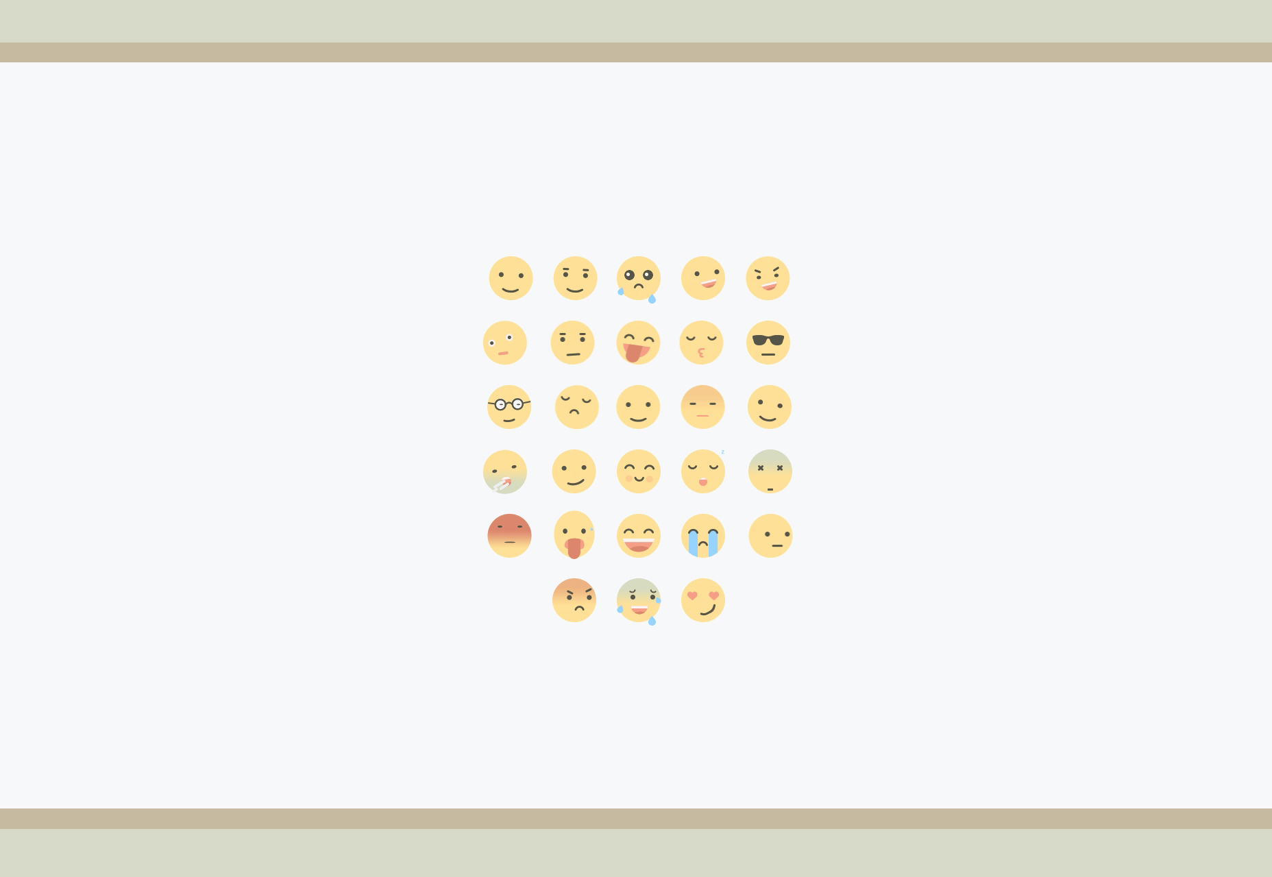 Adobe After Effects Animated Flat Emojis