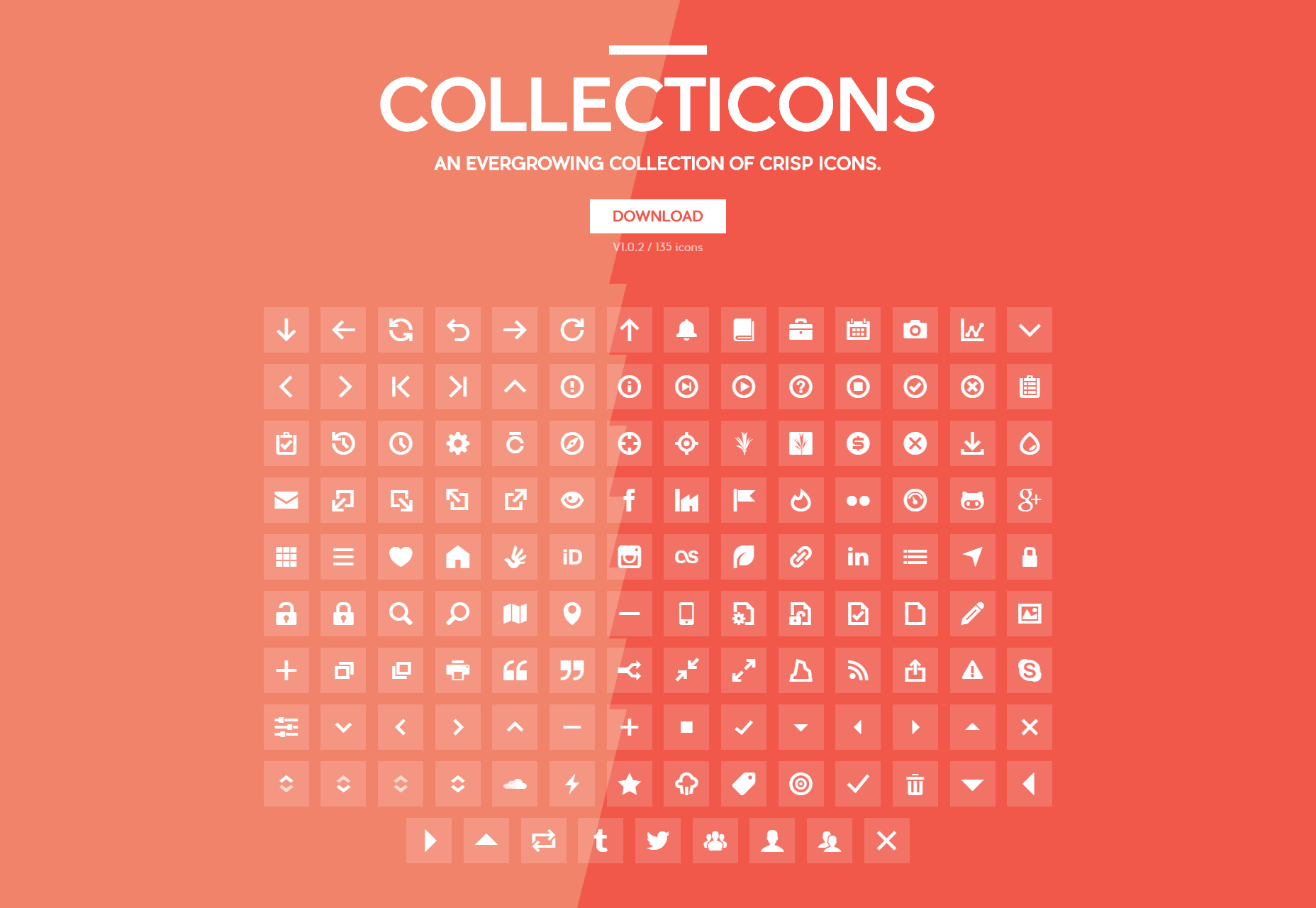 Collecticons: An Evergrowing Filled Web Icons Collection