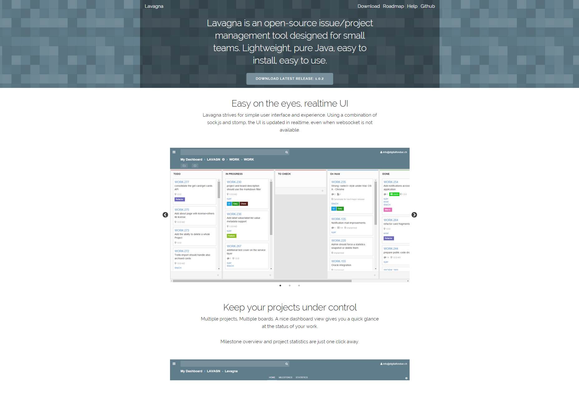 Lavagna: Open-source Project Management Tool