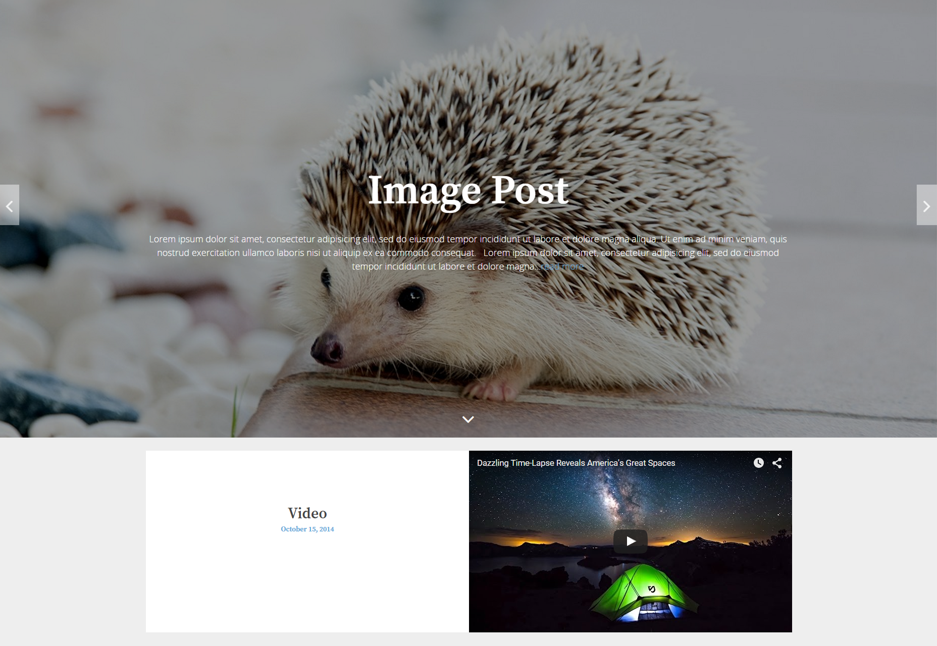 The Huxley: Versatile Multi-page WordPress Theme