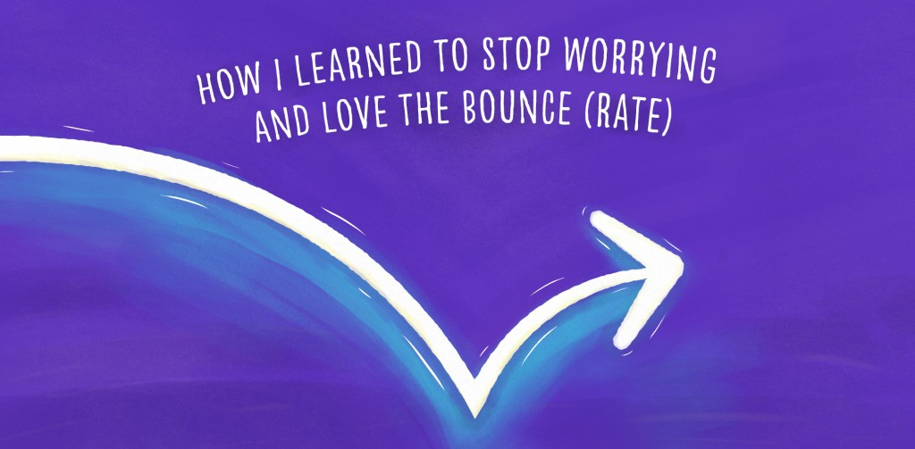 How I learned to stop worrying and love the bounce (rate)