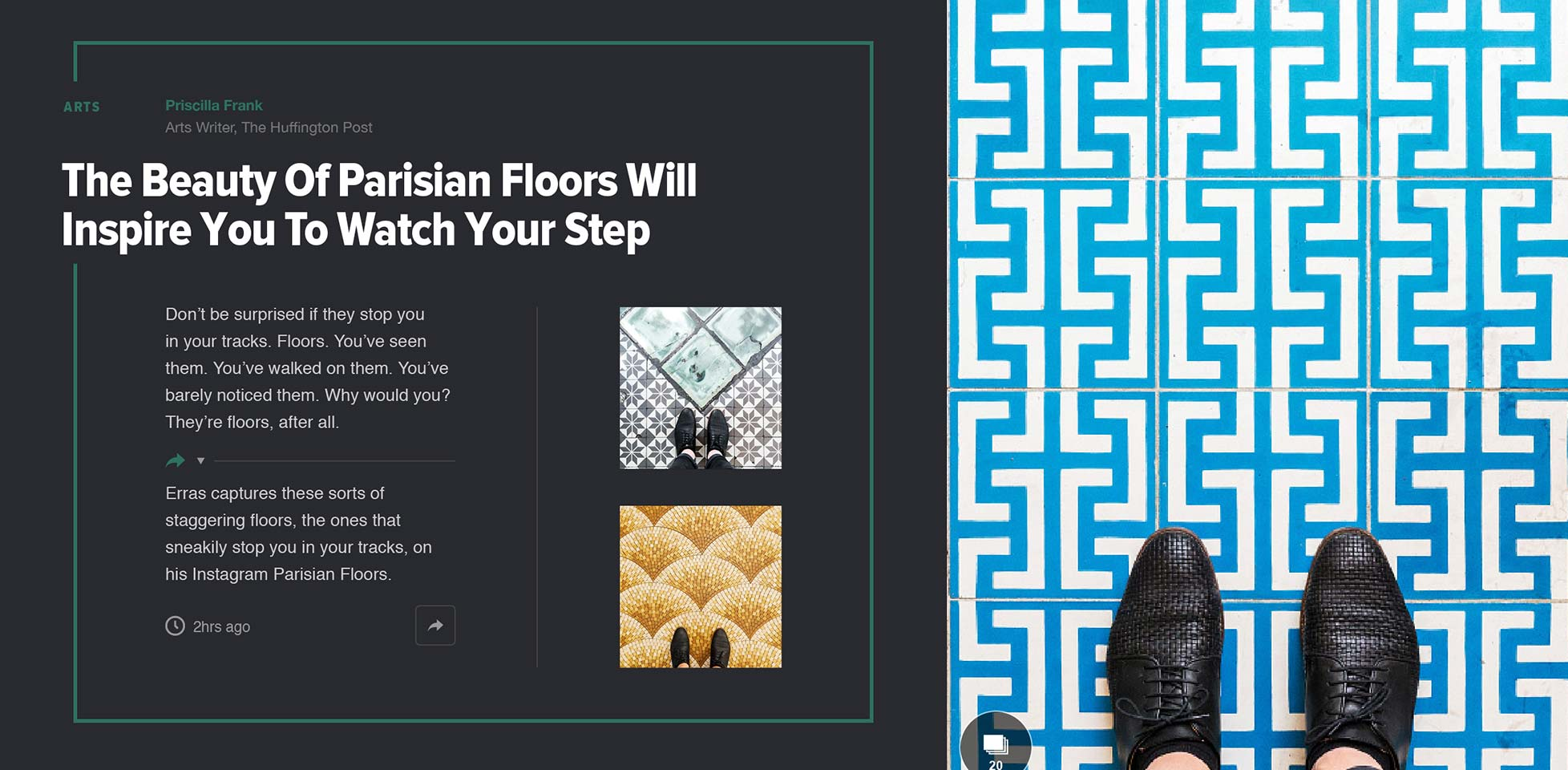 The Huffington Post debuts a bold new design