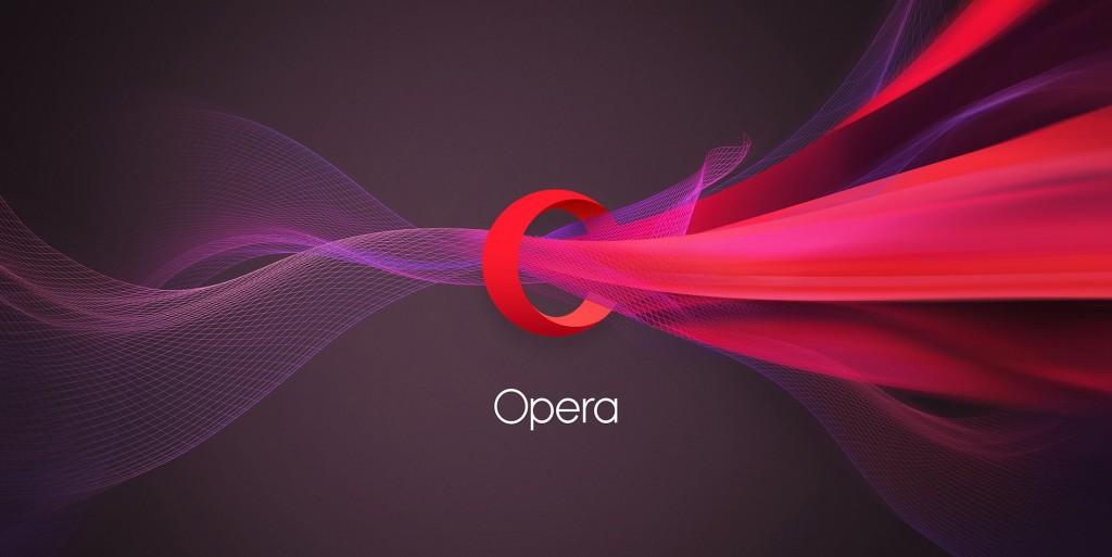 Opera rebrands with elegant new identity