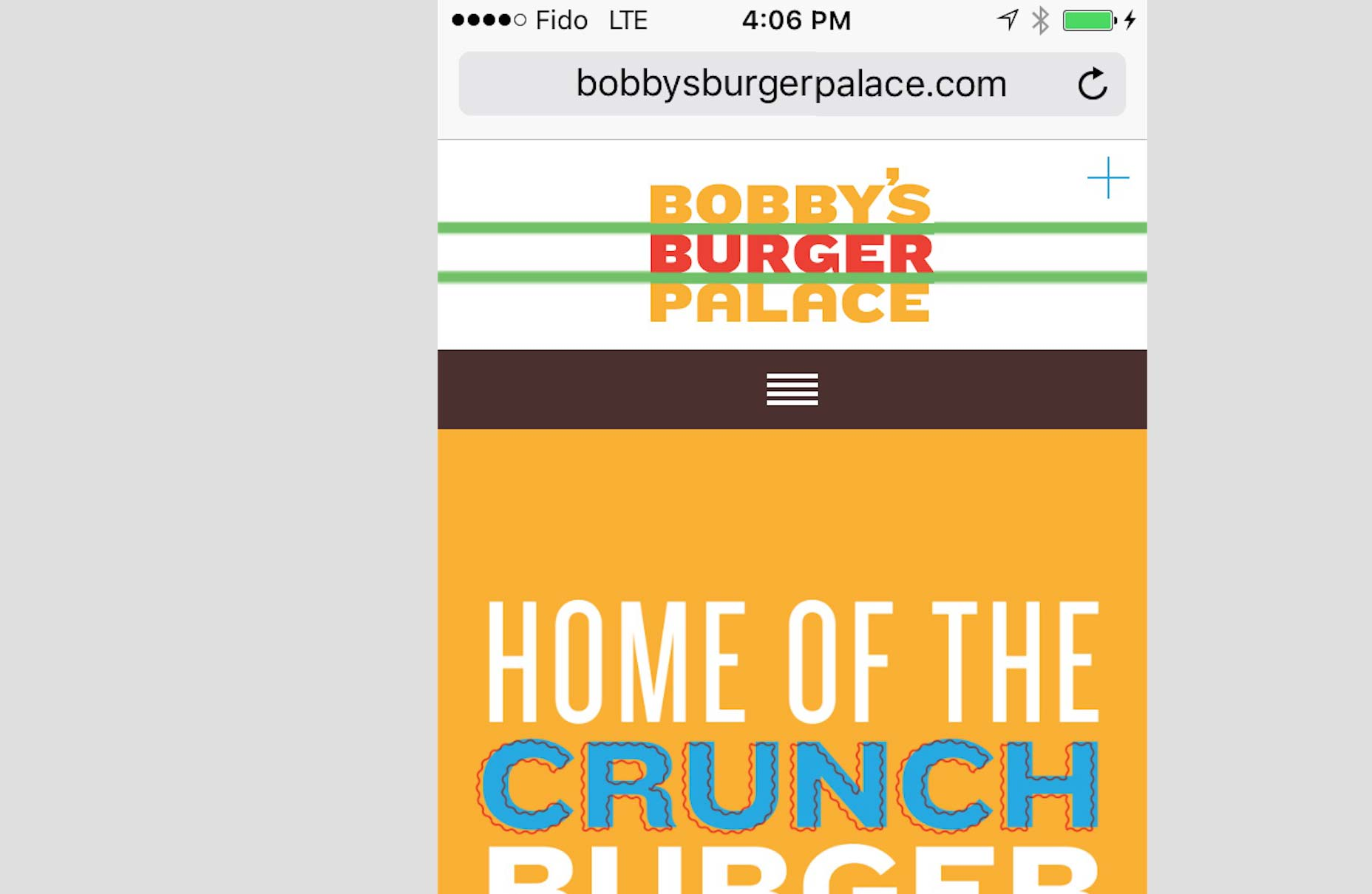 Bobbys-Burger-Palace-Mobile-Screenshot