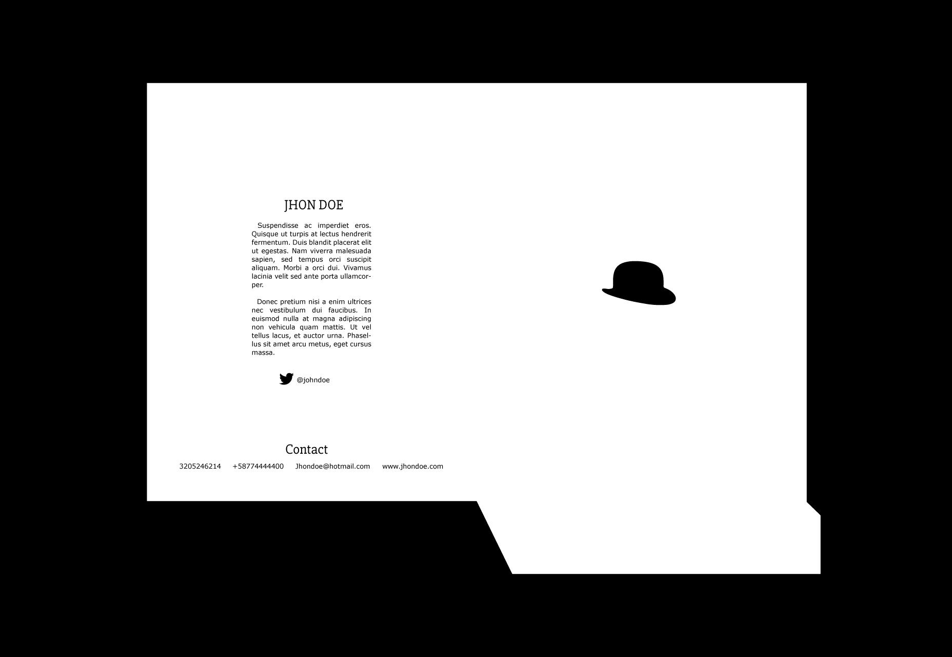 Fancy: Clean Style Folder Template