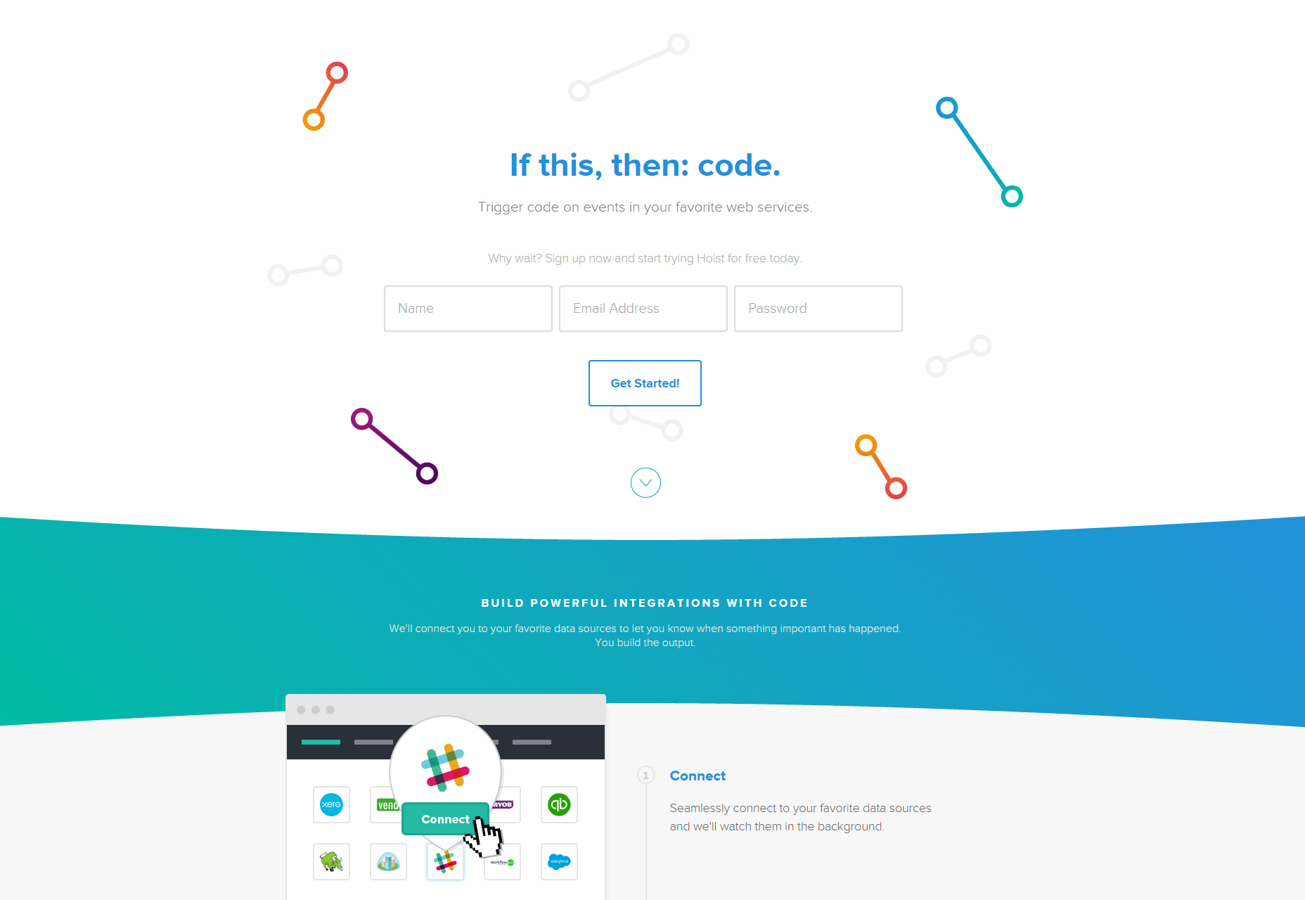 Hoist: APIs Communicating Microservices Platform