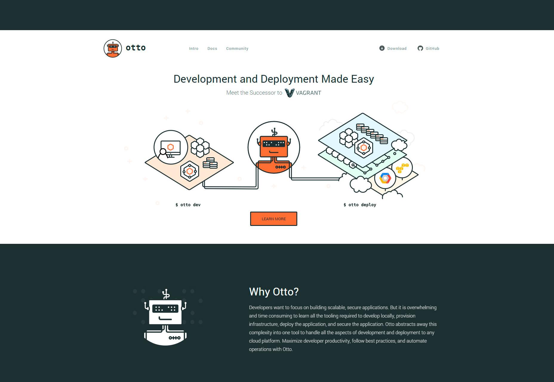 Otto: Web App Development & Deployment Environment