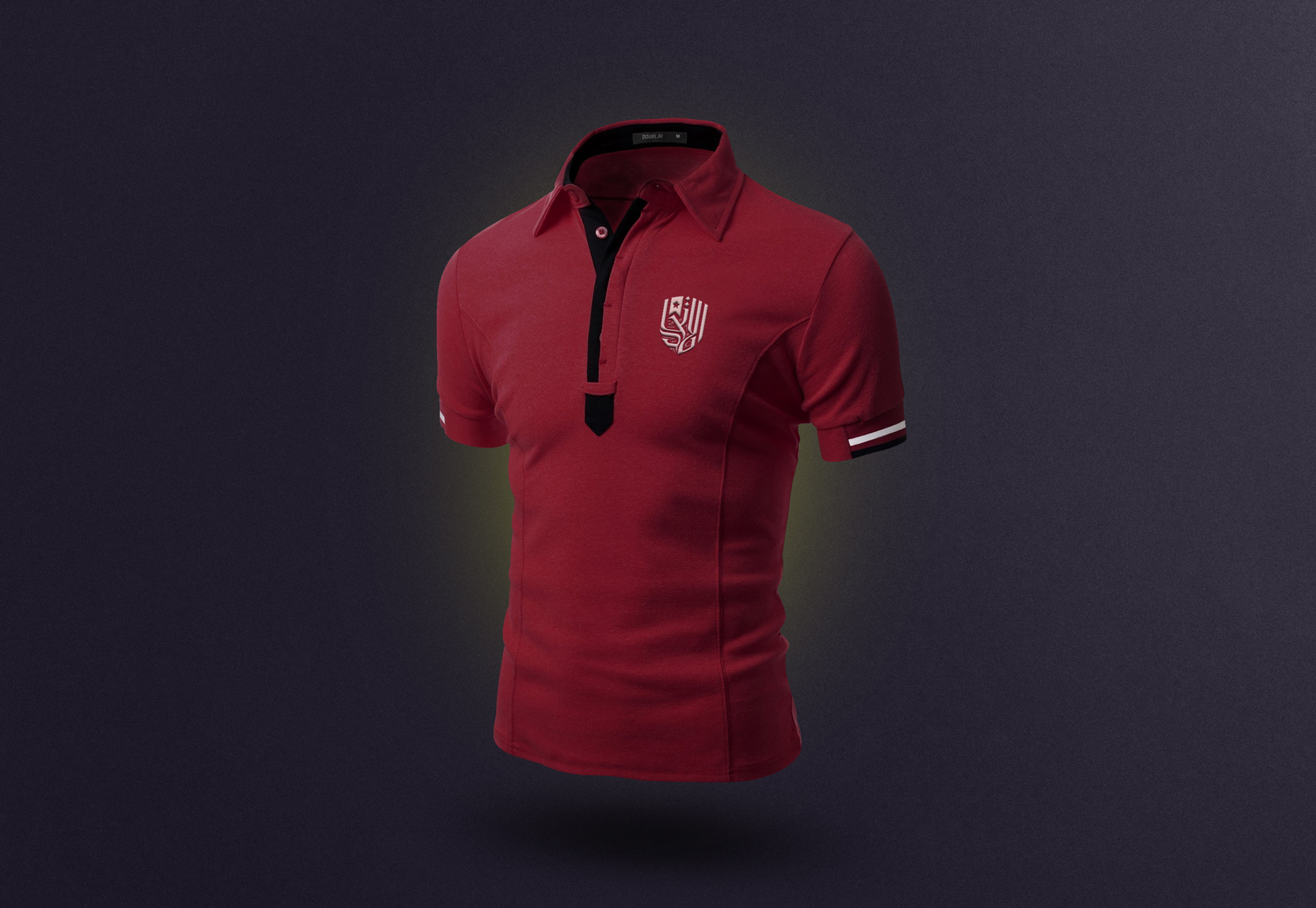 3 Polo T-shirt PSD Mockups Set