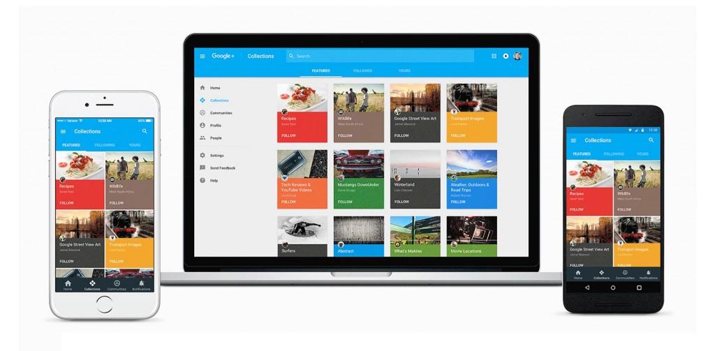 Google+ undergoes huge redesign