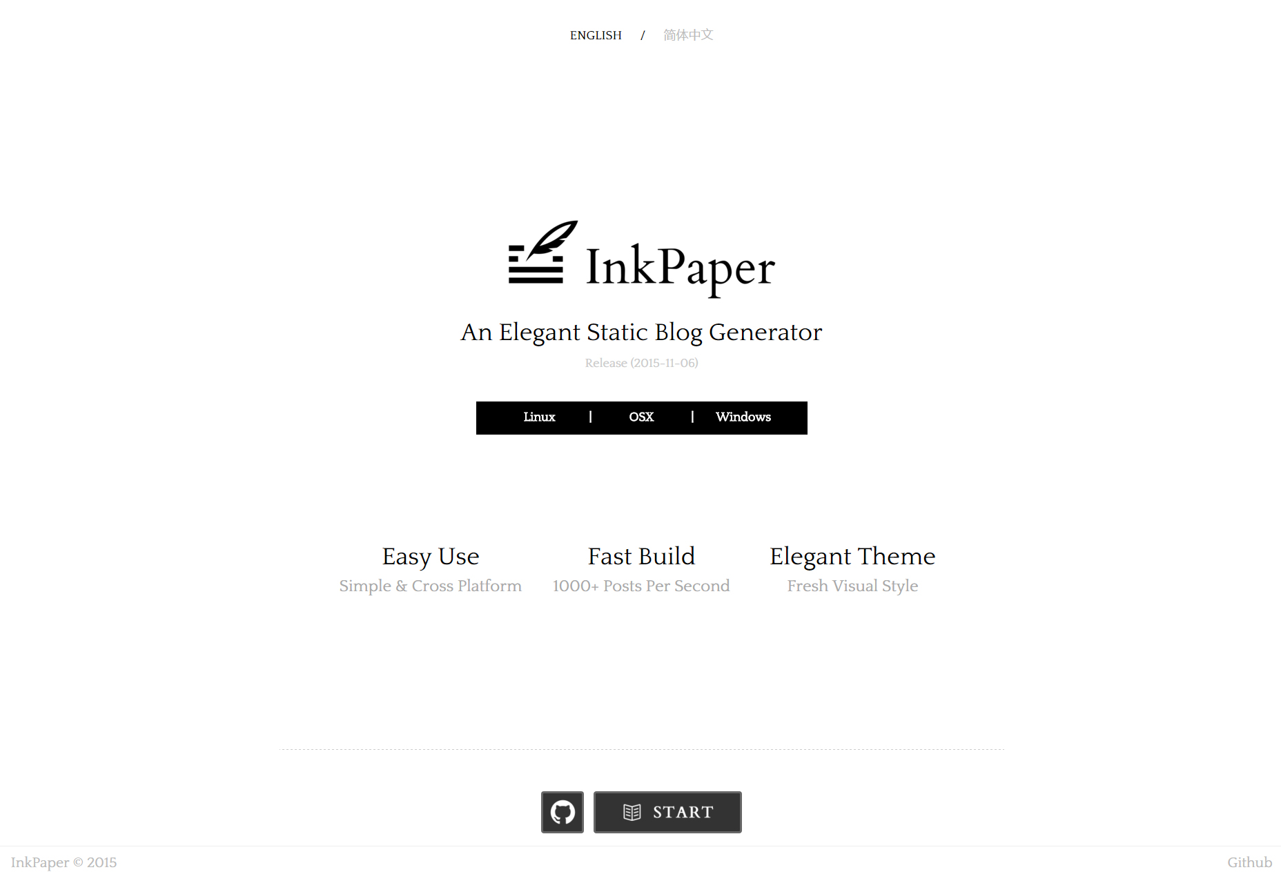 InkPaper: Desktop Static Blog Generator