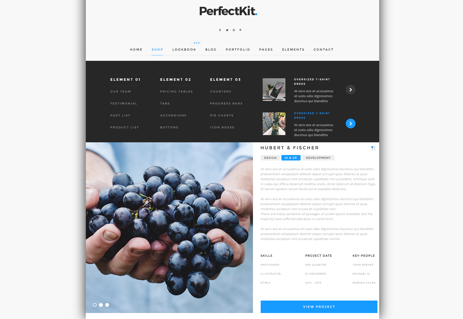 Perfect Kit: Modern Dark & Light UI Kit
