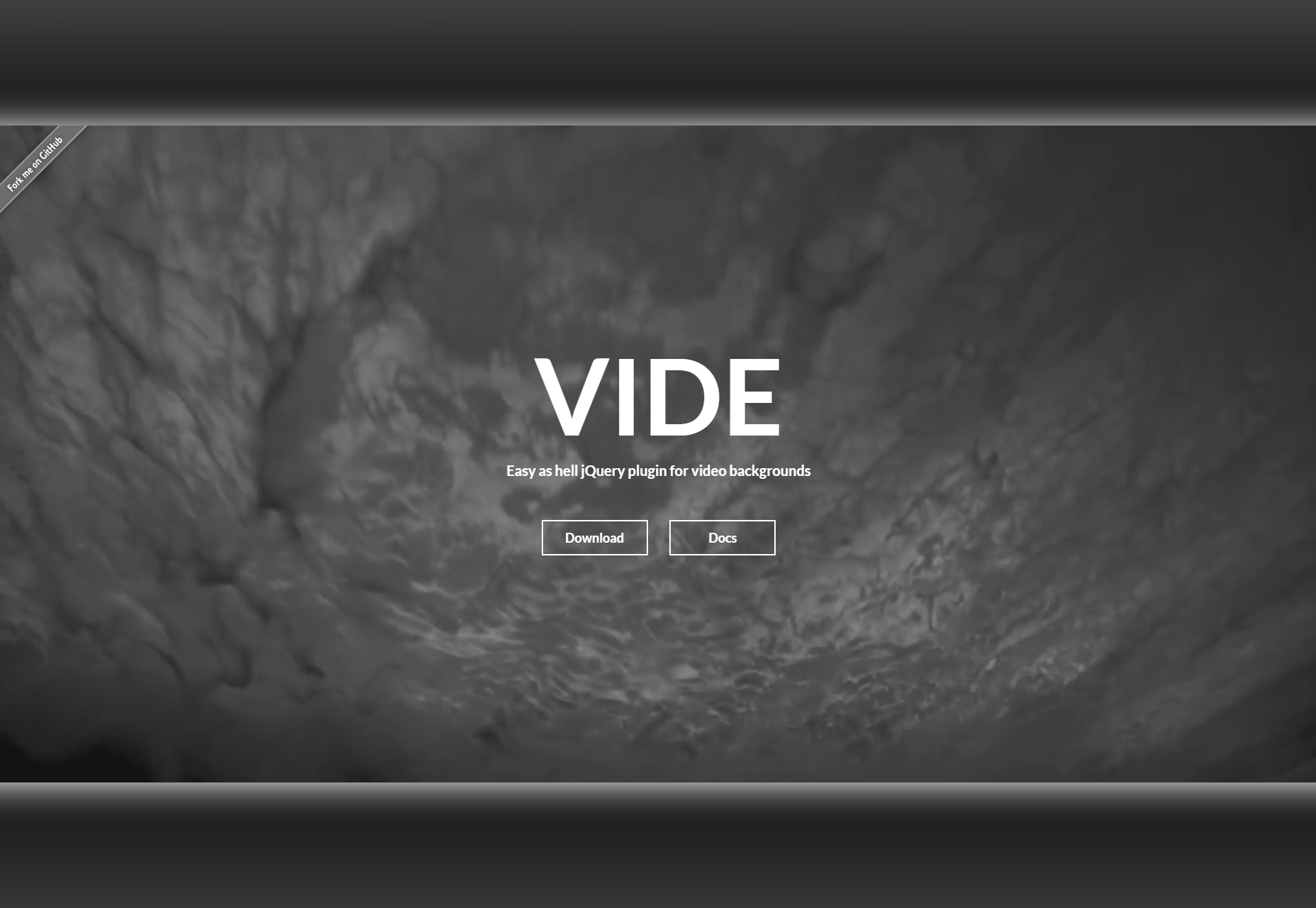 Vide: Video Background jQuery Plugin